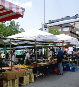 Markttag in Osterfeld